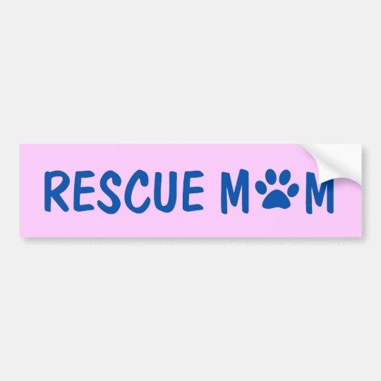 Rescue Mum Bumper Sticker
