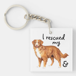 Rescue Toller Key Ring