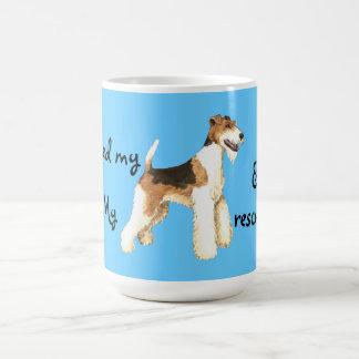 Rescue Wire Fox Terrier Coffee Mug