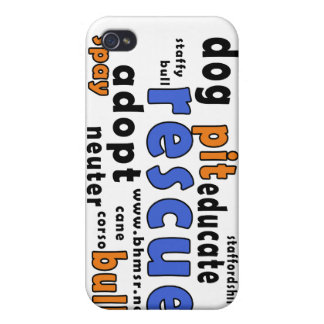 Rescue Words iPhone 4 Cover