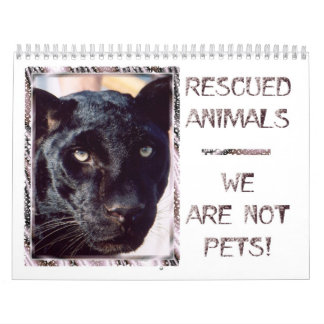 Rescued Animals Calendar