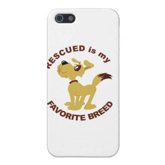 Rescued Dog Breed Cases For iPhone 5