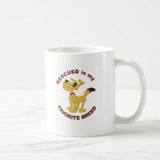 Rescued Dog Breed Coffee Mugs