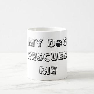 Rescued Dog Cup Basic White Mug
