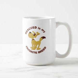 Rescued Dog Coffee Mug