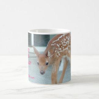 rescued fawn mug