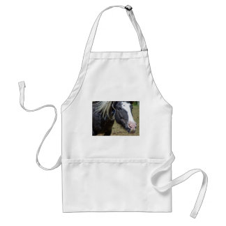 RESCUED HORSE ADULT APRON