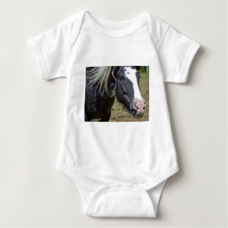 RESCUED HORSE BABY BODYSUIT