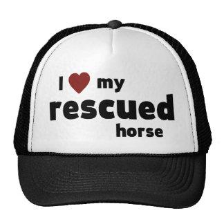 Rescued horse cap