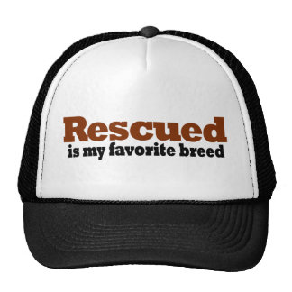 Rescued Is My Favorite Breed Hat