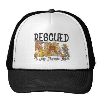 Rescued is my Favorite Breed Trucker Hat