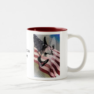 Rescued Pets and Vets Two-Tone Mug
