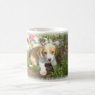 rescued puppy mug