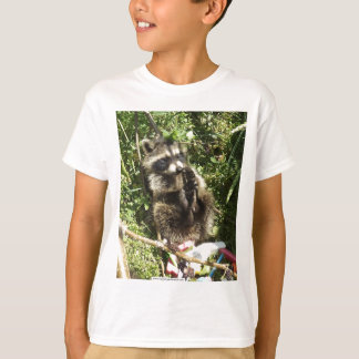 Rescued & Rehabilitated Raccoon Baby T Shirts