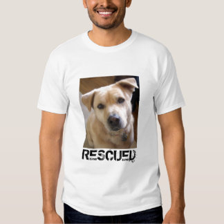 RESCUED YELLOW LAB SHIRT