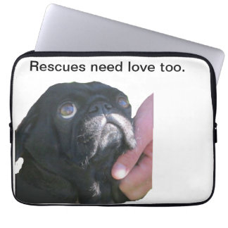 Rescues need love too. (Laptop cover 13-inch)