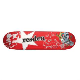 RESDEN ORIGINAL SKATEBOARD DECK