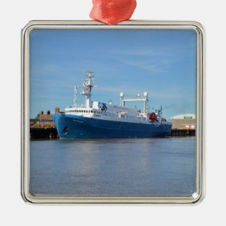 Research And Survey Vessel Sea Explorer Christmas Ornament