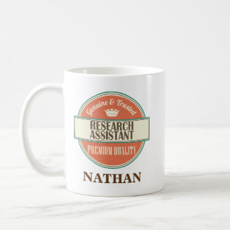 Research Assistant Personalized Office Mug Gift