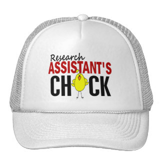 RESEARCH ASSISTANT'S CHICK HATS