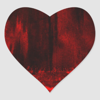 RESEARCH HEART STICKER
