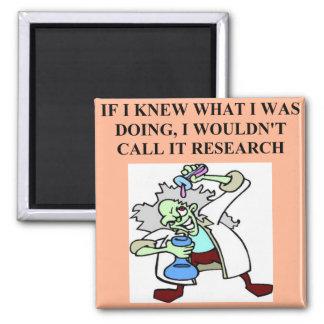 research  joke magnet