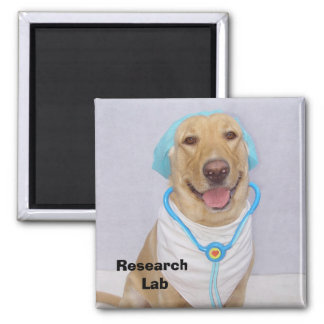Research Lab Square Magnet