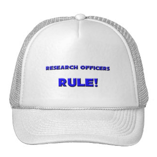 Research Officers Rule! Mesh Hat