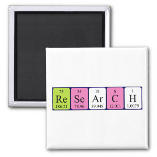 Research periodic table name magnet