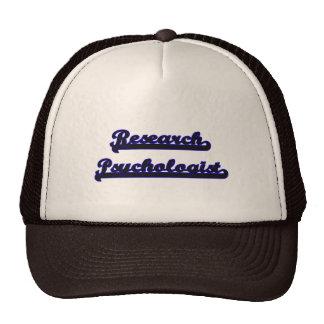 Research Psychologist Classic Job Design Cap