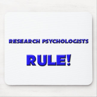 Research Psychologists Rule! Mouse Mat
