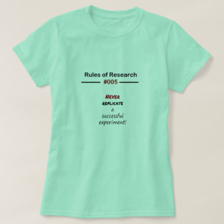 Research Rules 005 T-Shirt