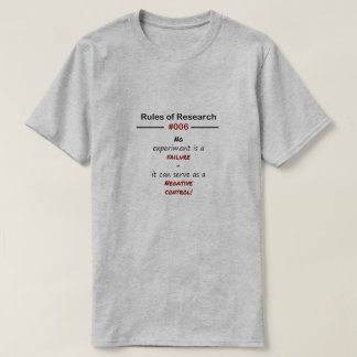 Research Rules 006 T-Shirt