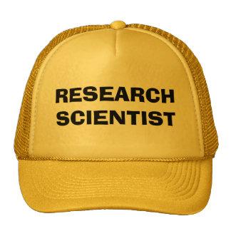 RESEARCH SCIENTIST TRUCKER HAT