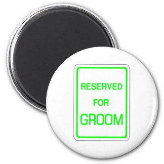 Reserved For Groom Magnet