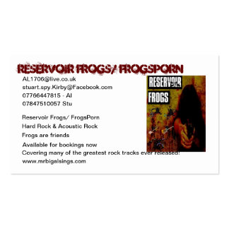 Reservoir Frogs Business Cards