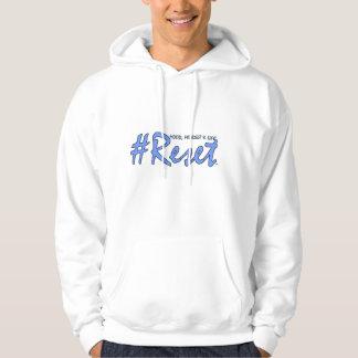 #Reset Gym Hoodie (Blue Writing)