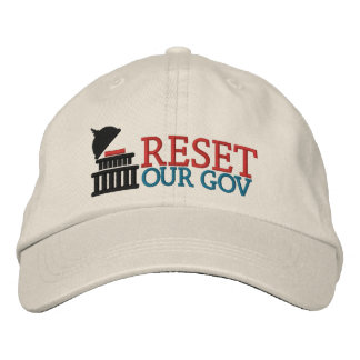 Reset Our Gov logo hat Embroidered Hats