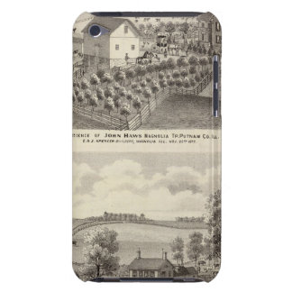 Residence and farm residence in Magnolia Tp Case-Mate iPod Touch Case