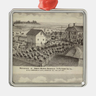Residence and farm residence in Magnolia Tp Christmas Ornament