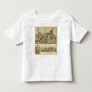 Residence and Greenhouse of John Lent Sewickley Toddler T-Shirt