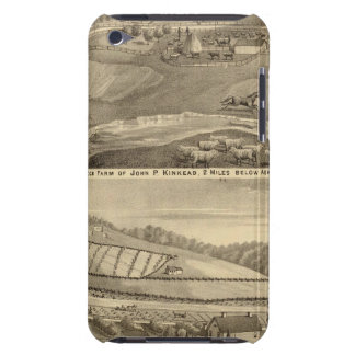 Residence and stock farm iPod touch Case-Mate case