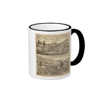 Residence and stock farm ringer mug