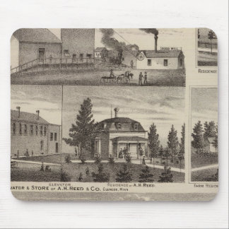 Residence in Hutchinson, Minnesota Mouse Mat