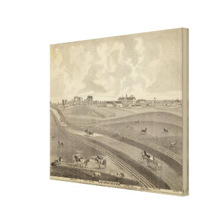 Residence, Minnesota Canvas Prints