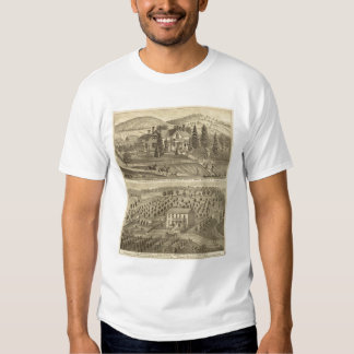 Residence of AP Howard Hancock T-shirts