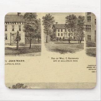 Residence of Dr Joseph Shallcross Mouse Mat