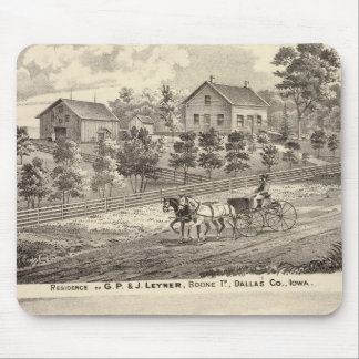 Residence of GP & J Leyner, Boone Tp Mouse Pad