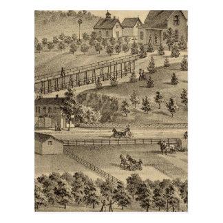 Residence of Jacob Markley Postcard