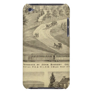 Residence of John Biggert, Idlewood Station Barely There iPod Case